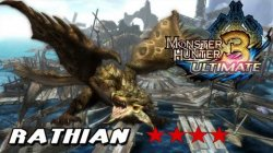 Guía Monster Hunter 3 Ultimate - Misión Rathian Lvl. 4