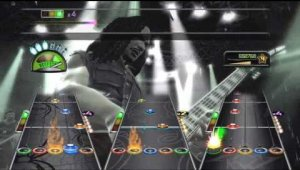 Guitar Hero Metallica Gameplay