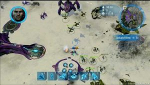 Halo Wars Gameplay