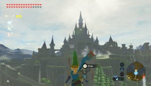 Hyrule Castle before calamity - Breath of The Wild (Age of Calamity structures)
