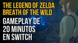 Jugamos a The Legend of Zelda Breath of the Wild para Nintendo Switch