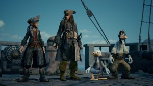 Kingdom Hearts 3 - Piratas del Caribe