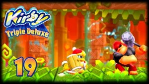 Kirby Triple Deluxe [3DS] - Cap 19 ¡Minibosses everywhere!