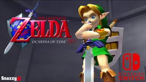 Legend of Zelda: Ocarina of Time 3D Should Be Ported to the Nintendo Switch (1080P HD 60FPS)