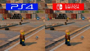 Lego City Undercover - Comparativa gráfica entre Nintendo Switch y PlayStation 4