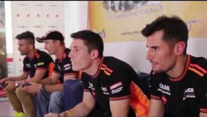 Los pilotos de NGM TEAM RIDERS testean MotoGP14