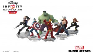 Los Power Disc se muestran en Disney Infinity 2.0 Edition