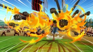 Luffy y más personajes se muestran en One Piece: Pirate Warriors 3