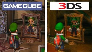 Luigi's Mansion - Gamecube VS 3DS Comparacion Gráfica