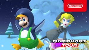 Mario Kart Tour - Ice Tour Trailer