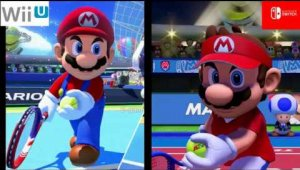 Mario Tennis Aces vs. Mario Tennis: Ultra Smash - Comparativa gráfica