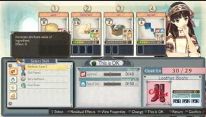 Más características de Atelier Shallie: Alchemists of the Dusk Sea