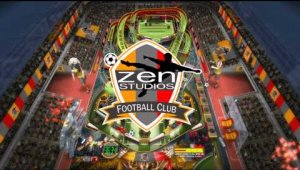 Mesa de Super League Football para Zen Pinball 2 y Pinball FX2