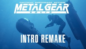 Metal Gear Solid intro con el Unreal Engine 4 - Vídeo original
