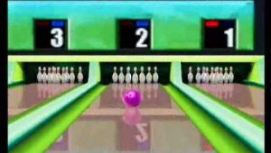 Midnight Bowling Gameplay