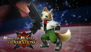 Monster Hunter Generations recibe contenido de Star Fox