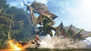 Monster Hunter World - Nuevo Gameplay (off-screen)