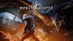Monster Hunter: World – The Witcher 3: Wild Hunt (Geralt de Rivia)