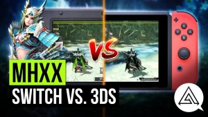 Monster Hunter XX: comparativa entre Nintendo Switch y Nintendo 3DS