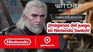 Nintendo Switch Gameplay:  The Witcher 3: Wild Hunt – Complete Edition (gamescom 2019)