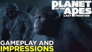 Nuevo gameplay de Planet of the Apes: Last Frontier