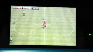 Offscreen gameplay PES 3D 2