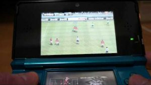 OffScreen Gameplay PES 3D