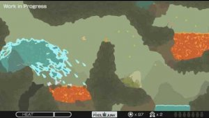 Pixeljunk Gameplay