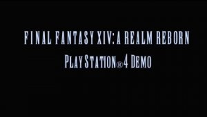 Primer vídeo de Final Fantasy XIV: A Realm Reborn en PlayStation 4