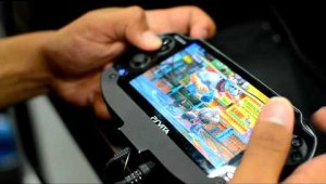 PS Vita Crossplay Gameplay Comic-Con 2012