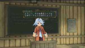 Raine se presenta en Tales of Symphonia Chronicles