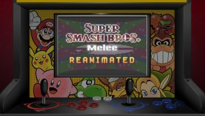 Recrean la intro de Super Smash Bros. Melee en un curioso corto animado