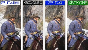 Red Dead Redemption II | PS4 vs PS4 Pro vs ONE vs ONE X | 4K Graphics Comparison