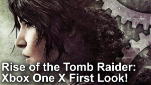 Rise of the Tomb Raider: Comparativa gráfica entre Xbox One X y PS4 Pro
