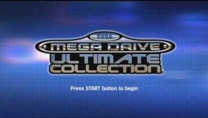 Sega Mega Drive Ultimate Collection Intro