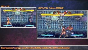 SFxTK Ver. 2013 Xiaoyu Changes & Updates