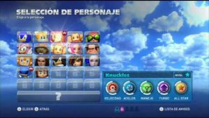Sonic & All Stars Racing Transformed [WiiU] PRIMERAS IMPRESIONES