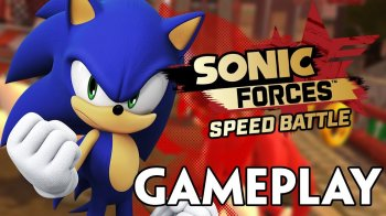 Sonic Forces: Speed Battle - Vídeo con gameplay