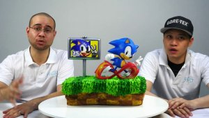 Sonic the Hedgehog - Estatua conmemorativa del 25º Aniversario