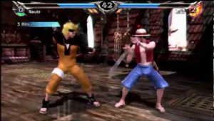 Soul Calibur 5 - NARUTO vs. LUFFY