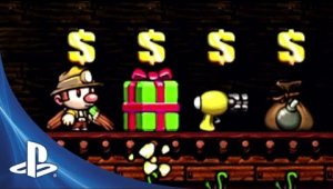 Spelunky - Now on PS3 and Vita!