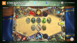 Streaming Hearthstone: Arenas Día 21