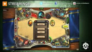 Streaming Hearthstone: Arenas Día 22