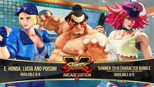 Street Fighter V: Arcade Edition – E. Honda/Lucia/Poison Gameplay Trailer