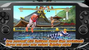 Street Fighter X Tekken Vita - TGS Trailer