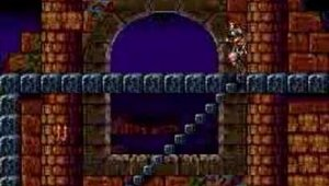Super Castlevania 4 Gameplay Nivel 1