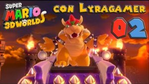 Super Mario 3D World #02 - Mundo 1-4, 1-5, 1-Toad y 1-Castillo