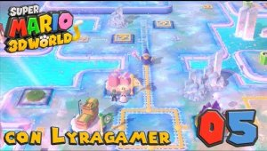 Super Mario 3D World #05 - Mundo 3-1, 3-2, 3-3, 3-Toad y 3-4