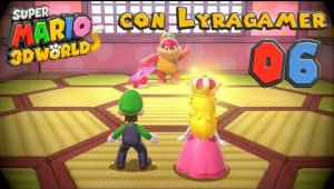 Super Mario 3D World #06 - Mundo 3-A, 3-5, 3-6, 3-7 y 3-Castillo