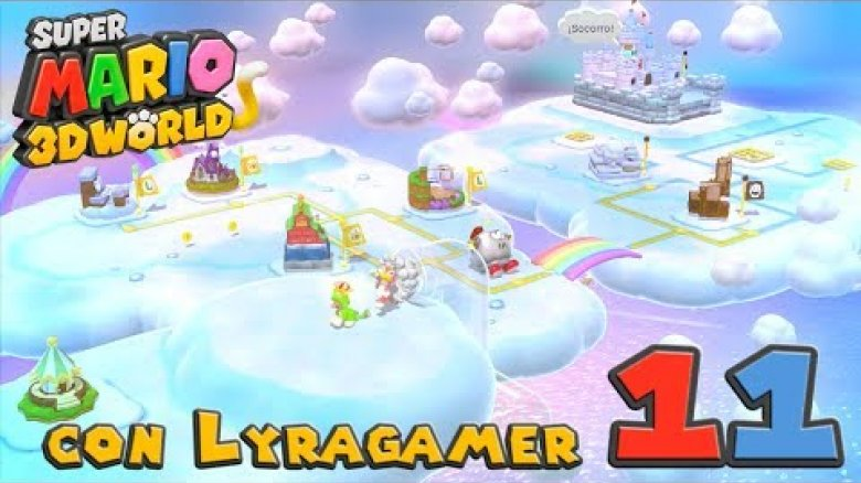 Super Mario 3D World #11 - Mundo 6-1, 6-2, 6-3, 6-4, 6-A y 6-5